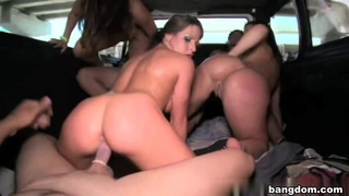 Rachel Roxxx, Jayden Jaymes, Sienna West in Bang Bus Miami Beach EXXXOTICA Tour 2009