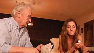 Best Alice Romain Teen anal fuck with grandpa old