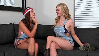 Patriotic lesbian action