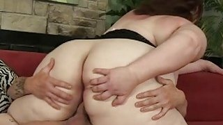 Huge BBW Shaky Muscles When Fucked