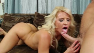 Anikka Albrite rides cock and gets her pussy fucked