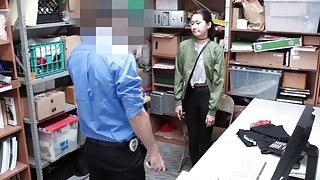 Repeat offender blowjob the LP Officers cock