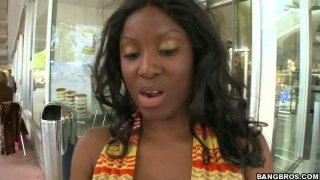 No doubt Armany Cash is a seductive hot and voracious black chick