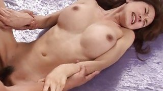 She has a hot time as she gets a sloppy fuck to en