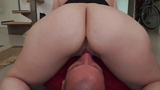 Sara Jay drops ass on mans face