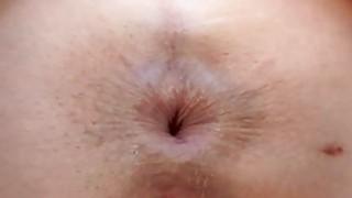 Man is having fun sucking babes sexy butt hole