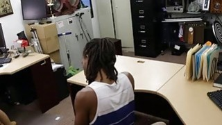 Black dude pawns his GFs twat and banged by horny pawn man