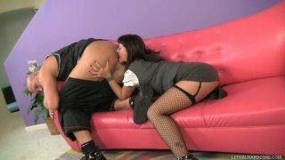 Butt polisher Carrie Ann eats Christian XXX's asshole